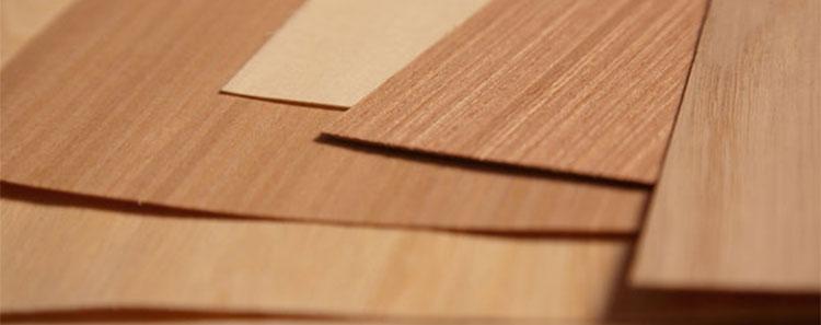 Aplicar folha de madeira com cola coqueiro