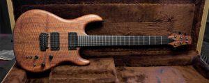 Guitarra com óleo de tungue